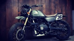 Modified Royal Enfield Himalayan scrambler 'Wilder' by Bulleteer Customs