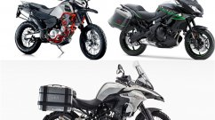 Benelli TRK 502 vs Kawasaki Versys 650 vs SWM Superdual T - Spec sheet comparo