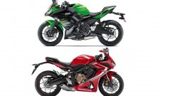 2019 Honda CBR650R vs Kawasaki Ninja 650 - Spec sheet comparo