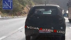 2019 Hyundai Grand i10 spied testing on the Mumbai-Pune expressway