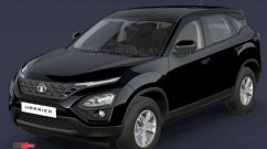 Dealership lists Tata Harrier in an unannounced 'Atlas Black' colour [Update]