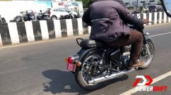 Next Generation Royal Enfield Classic spotted for the first time