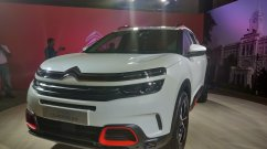 Citroen C5 Aircross SUV Production Begins In India For Testing Purposes