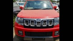 2019 Mahindra TUV300 (facelift) exterior and interior leaked