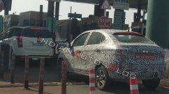 BSVI-compliant 2020 Tata Tigor (facelift) spied on test in Maharashtra
