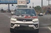2019 Ssangyong Tivoli (facelift) spotted testing in India