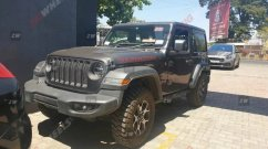 Jeep Wrangler Rubicon spied in India for the first time