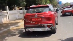 Top-end MG Hector in Glaze Red spotted ahead of launch next month [Video]