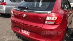 Toyota Glanza spotted in the wild, to be launched on 6 June
