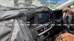 Kia Seltos touchscreen, instrument panel and more details leaked in fresh spy shots