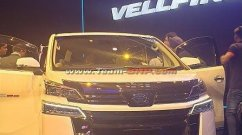 Toyota Vellfire showcased in India, to be launched very soon