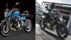 CFMoto 650NK vs Kawasaki Z650 - Spec Comparo