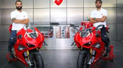 First two units of the Ducati Panigale V4 R delivered in India