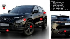 Tata Harrier Dark Edition official pictures leaked ahead of launch