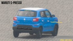 Maruti Suzuki S-Presso rear design spied for the first time