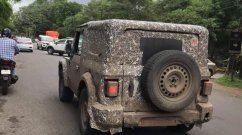 Next-gen Mahindra Thar testing continues ahead of early 2020 launch