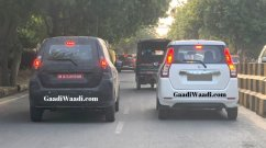 Maruti Wagon R with bigger wheels and LED tail lamps spotted again