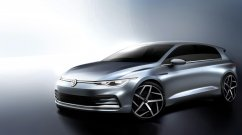 2020 VW Golf (VW Golf Mk8) teased again, to debut on the 24th of this month