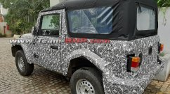 Next-gen 2020 Mahindra Thar soft-top spied yet again