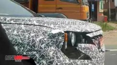 Next-gen Mahindra XUV500 spotted yet again