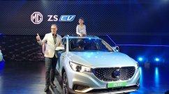 MG ZS EV का भारत में हुआ डेब्यू, अगले महीने होगी लॉन्च