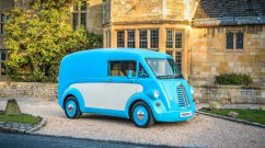 "Morris Commercial JE old-school electric van ""very likely"" for India - Report"