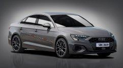 India-bound next-gen Audi A3 Sedan - IAB Rendering