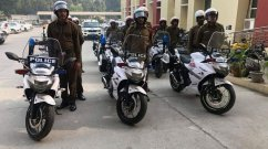 Suzuki Gixxer SF 250 joins Gurugram Traffic Police fleet