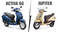 BS-VI Honda Activa 6G vs. BS-VI TVS Jupiter - Specs, Features & Prices compared
