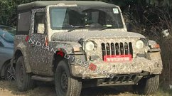 2020 Mahindra Thar spotted during its final testing