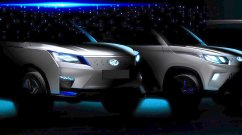 Auto Expo 2020: Mahindra eXUV300 concept and production Mahindra eKUV100 teased