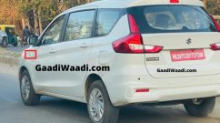 BS-VI Maruti Ertiga diesel (BS-VI Maruti Tour M diesel) testing continues, spied again