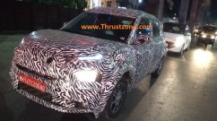 Top-end Tata HBX (Tata H2X/Tata Hornbill) spied up close