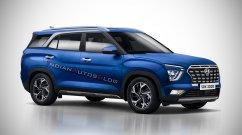 7-seat Hyundai Creta (2021 launch) - IAB Rendering