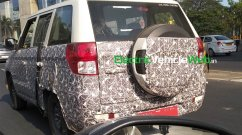 2020 Mahindra TUV300 Plus (facelift) spotted on test yet again [Update]