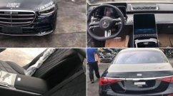 न्यू जेनरेशन Mercedes S-Class का एक्सटीरियर और इंटीरियर लीक