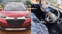 New Honda WR-V facelift starts reaching dealerships, interior leaked