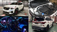 "This Kia Seltos modified with custom parts sets new standards for ""badass"""