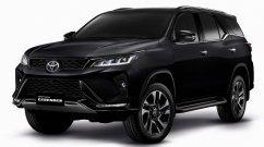 Toyota Fortuner Legender exterior & interior detailed in 18 full-HD images