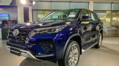 2021 Toyota Fortuner starts reaching showrooms - In 15 Live Images