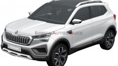 Skoda Vision IN patent images leaked: Clearest look yet at the upcoming Skoda SUV