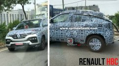 New spy shots of Renault's sub-4 metre Kiger SUV reveal a closer look