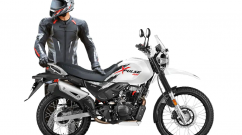 BS6 Hero XPulse 200 new seat cover options & motocross helmet revealed
