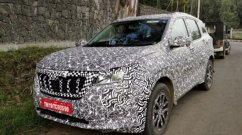 Next-Gen Mahindra XUV500 Mercedes-Like Interior Screens Spied in Action!
