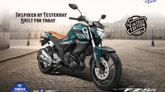Yamaha FZ-S Fi Vintage Edition with retro features launched in India