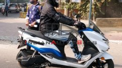 Suzuki Burgman Electric testing continues; clearest spy shots yet