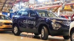 2021 Tata Safari Production Already Underway; Spied At Tata's Plant