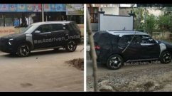 Hyundai 7-Seater Creta-Based SUV Spied Testing In India Once Again