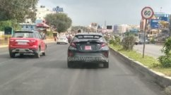Toyota C-HR Crossover Spied Testing on Indian Roads Again, Launching Soon?