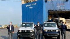 Maruti Suzuki Commences Export Of 3-Door Made-In-India Jimny SUV